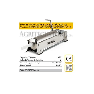 Reber 8964 N * 12 Kg упаковочная машина