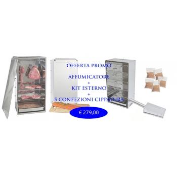 Курильщик комплексное предложение открытый набор и 5 Kg.Cippato