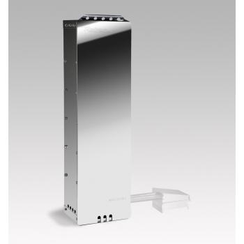 Вертикальная курильщика Ребер 10043N KIT Встраиваемая