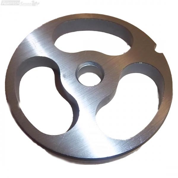 Тарелка для мясорубки с ромбовидными отверстиями TC12